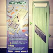 Mandoline Benriner | les meilleurs outils pour cuisiner