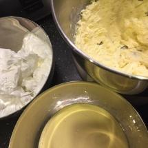 Préparations pour crème au beurre pralinée