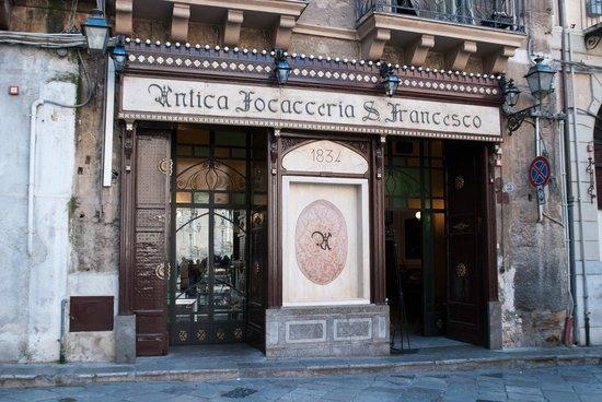 Restaurant Antica Focacceria San Francesco Palerme