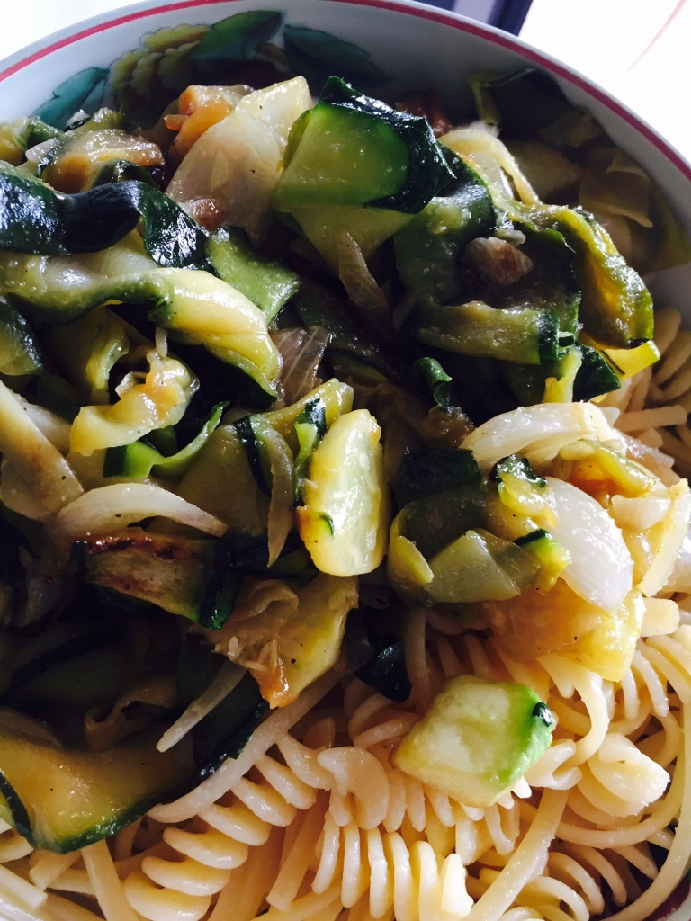 courgettes pates