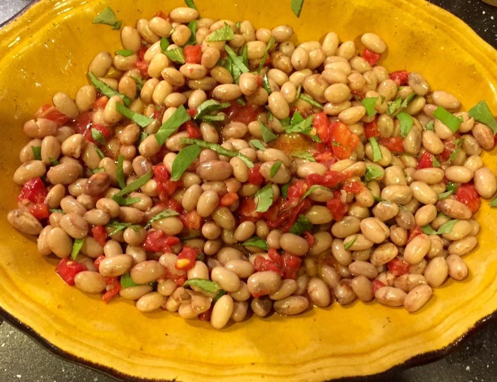 Borlotti en salade 2