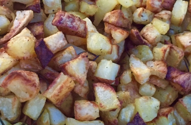 pommes de terre romarin