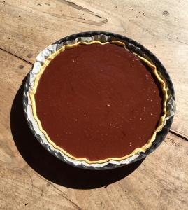 Recette discrète tarte au chocolat