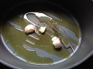 Ratatouille de Delphine Base ail et thym pour cuisson légumes