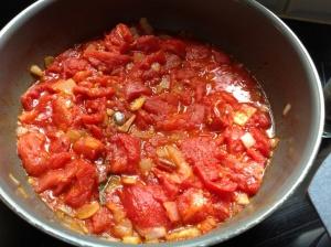 Compotée de tomates pour Ratatouille