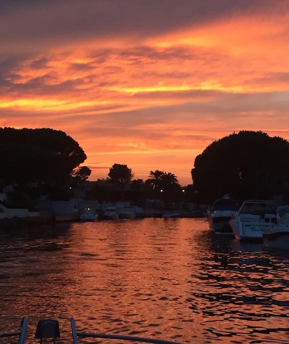 coucher de soleil delphinn
