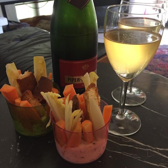 Champagne ! pour la nouvelle année
