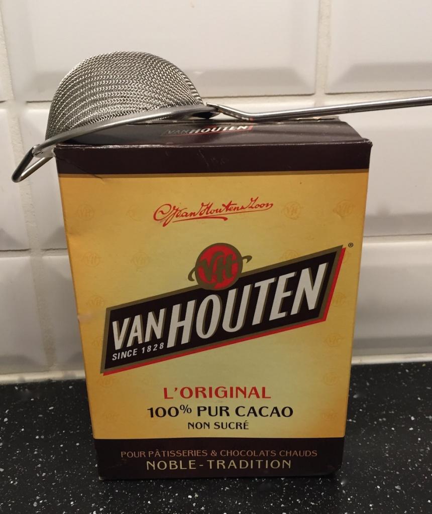 pas de tiramisù sans Van Houten