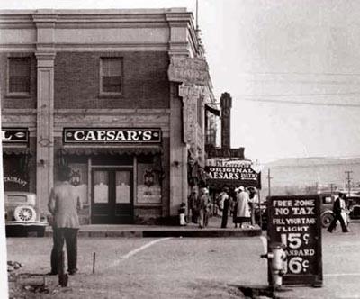 Caesar's restaurant Tijuana