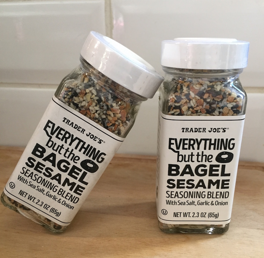 Bagel topping Trader Joe's