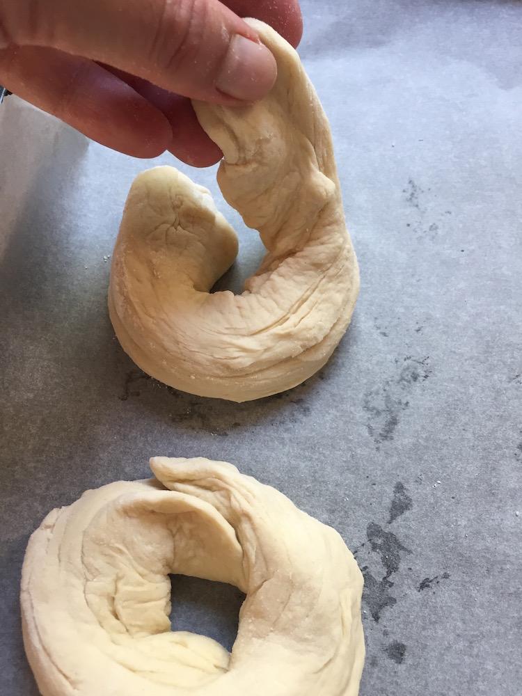 façonner les bagels 1
