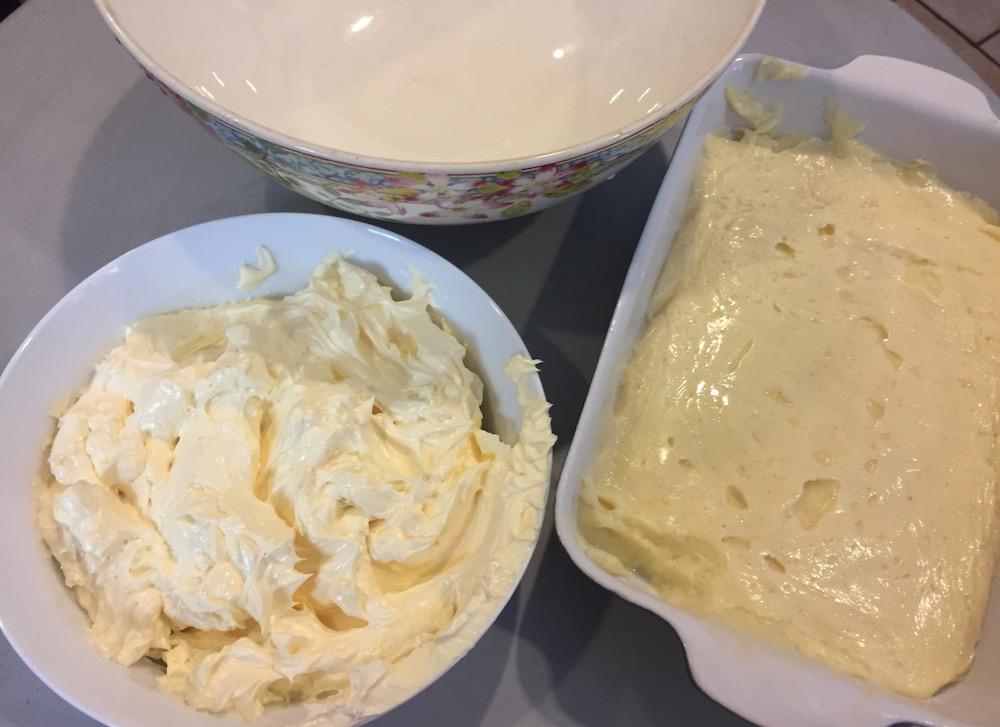 2 crèmes pour Tarte Tropézienne