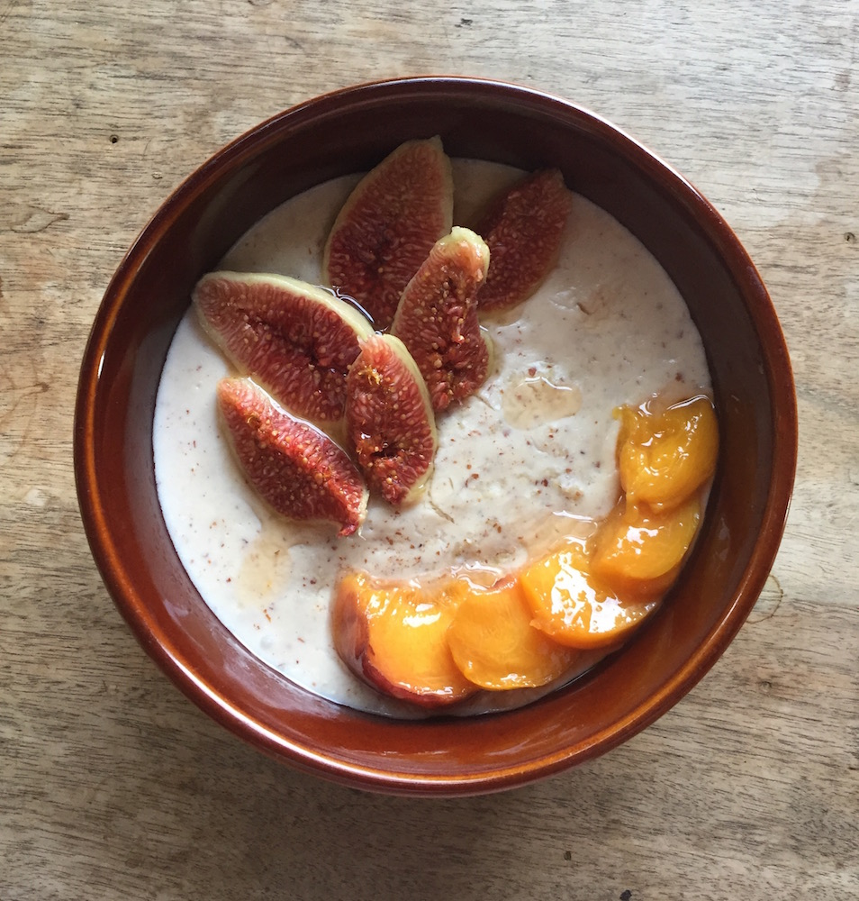 Porridge marocain version plus automnale