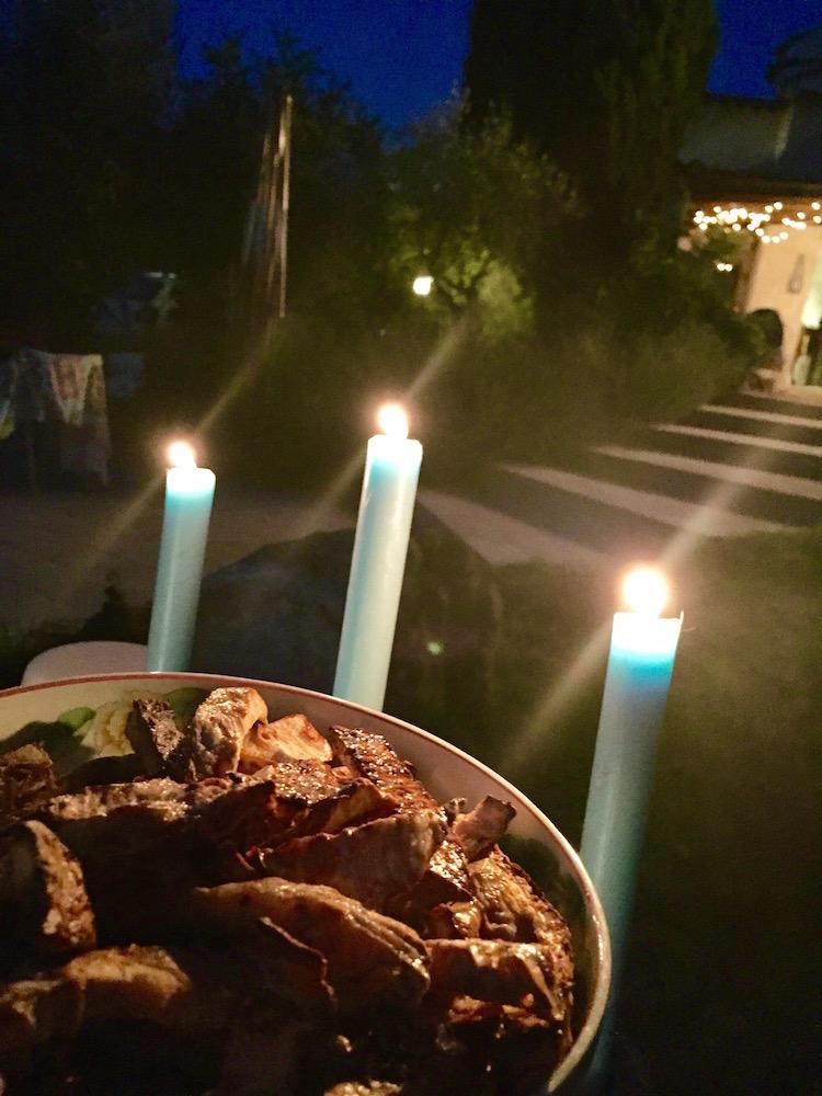 frites de céleri au dîner
