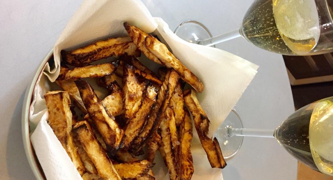 frites de céleri cover