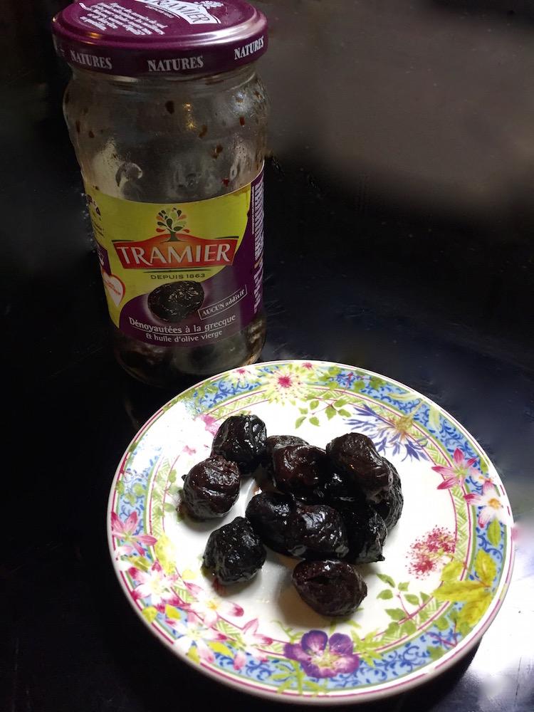 Olives noires Tramier