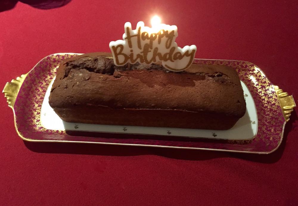 cake d'anniversaire