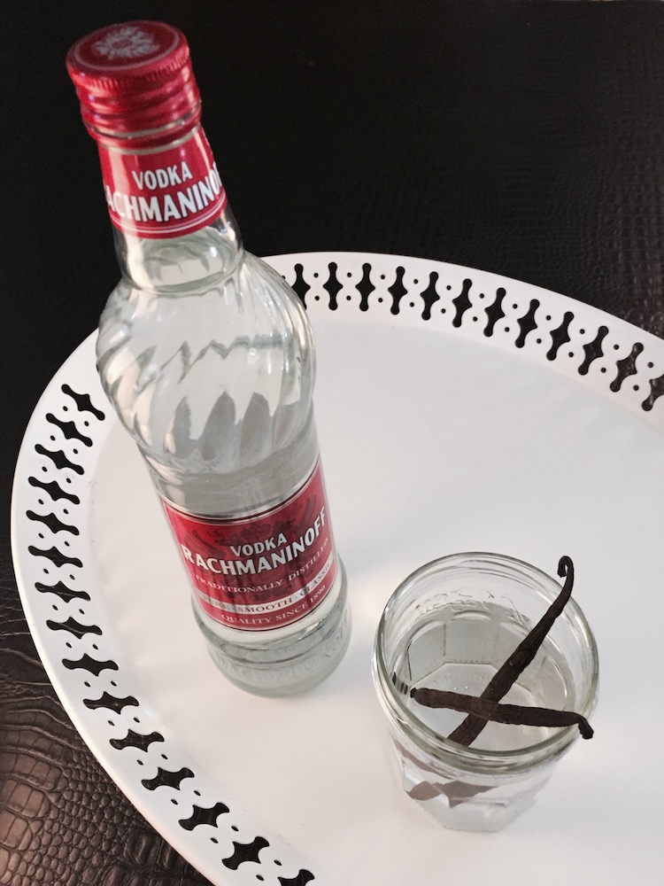 vanille et vodka