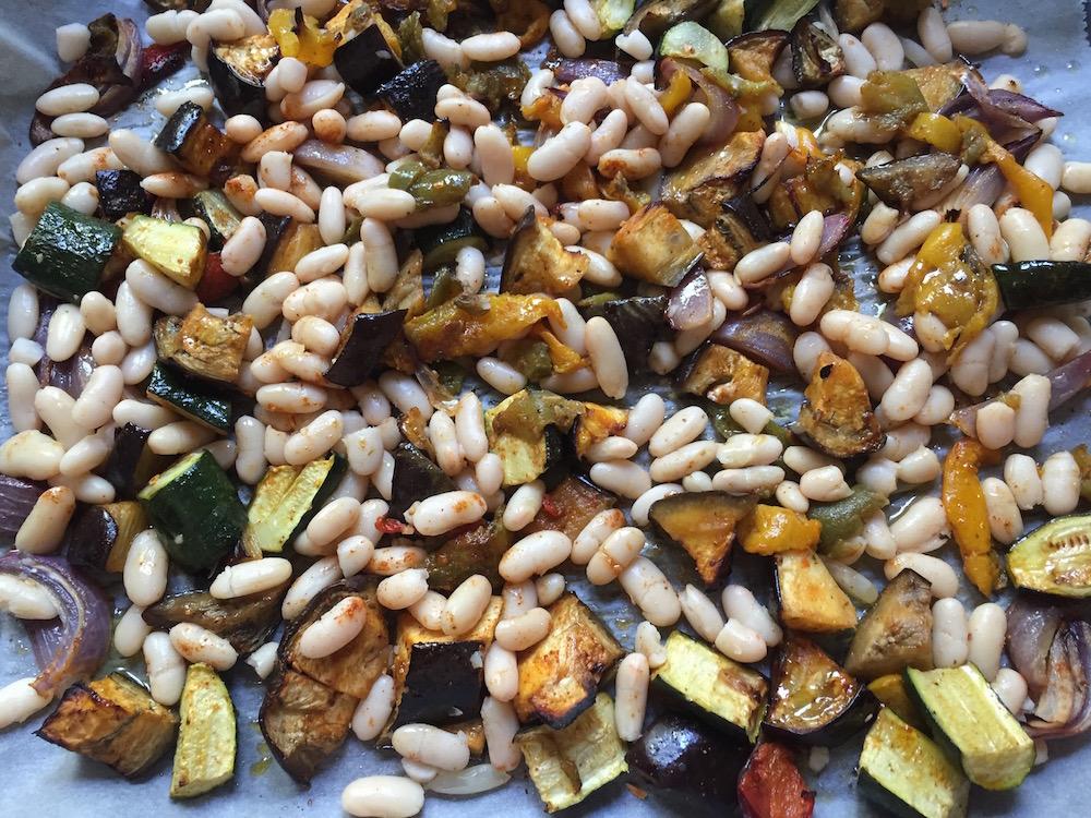 veg and beans
