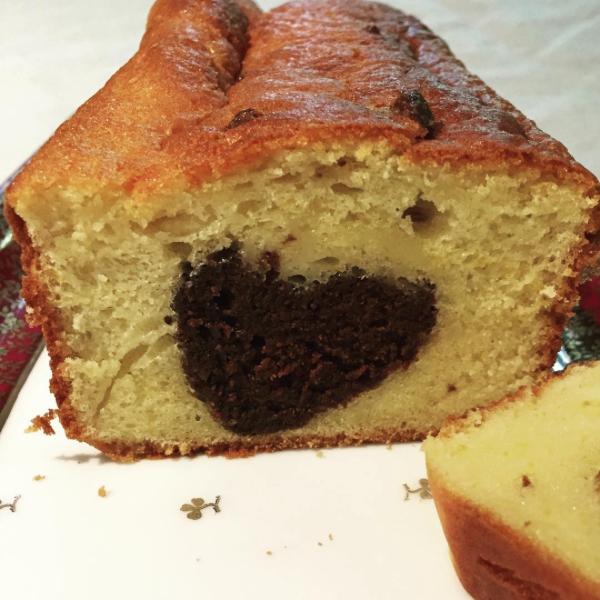 surprise cake coeur ramolino