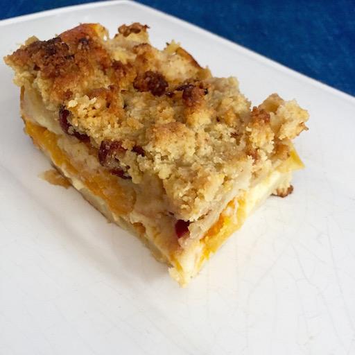 Crumb cake Abricot
