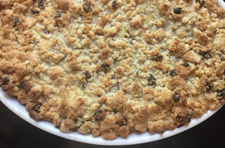 Crumb Cake Abricot façon clafoutis