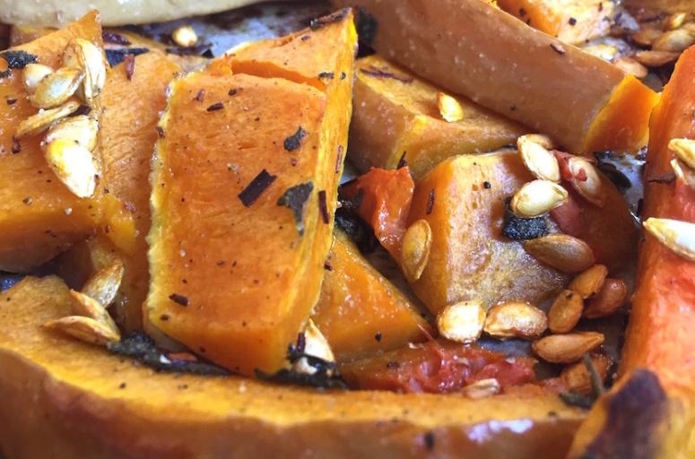 butternut grillée