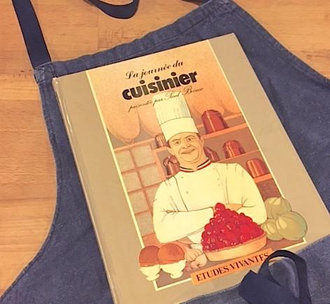 « La journée du cuisinier présentée par Paul Bocuse » aux éditions Etudes Vivantes (1ère édition 1980)