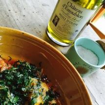 Préparation de la salade d'orange à la sicilienne