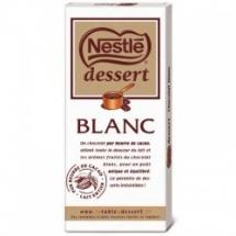 Chocolat blanc Nestlé dessert